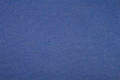 De blauwe Textuur van de Stof Royalty-vrije Stock Foto