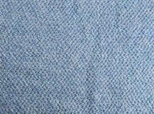De blauwe Textuur van de Stof Stock Fotografie