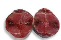 De blauwe tonijn van vinvissen snijdt wat Royalty-vrije Stock Afbeeldingen