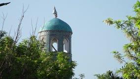 De blauwe toren van de citadel stock footage