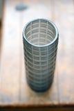 De blauwe Vaas van het Glas Stock Afbeeldingen