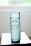 De blauwe Vaas van het Glas Royalty-vrije Stock Afbeelding