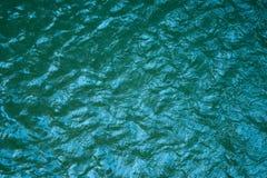 De blauwe van de overzeese donkere Abstracte achtergrond Wateraard Royalty-vrije Stock Afbeeldingen
