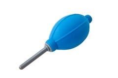 De blauwe ventilator van de Camera Stock Fotografie