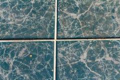 de blauwe vuile achtergrond van de hemel marmeren textuur stock fotografie