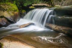 De blauwe Waterval van Ridge Mountains NC Royalty-vrije Stock Afbeeldingen