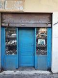 De Blauwe Winkel stock foto's