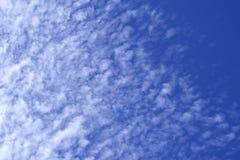 De blauwe Witte Wolken van de Hemel Royalty-vrije Stock Foto's