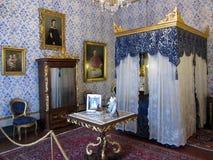 De Blauwe Zaal van het paleis Stock Afbeeldingen