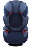 De blauwe zetel van de kindauto Royalty-vrije Stock Foto's