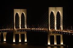 De Bleke brug van Sai, Macao Stock Foto
