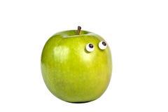 De blik van de appel Stock Afbeeldingen