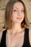 De blik van het meisje Royalty-vrije Stock Foto