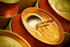 De blikken van het bier Royalty-vrije Stock Fotografie