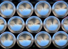 De blikken van het bier Royalty-vrije Stock Foto