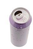 De blikken van het tin voor dranken Stock Foto's
