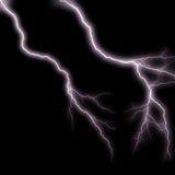 De bliksem schiet 3 weg Royalty-vrije Stock Afbeeldingen