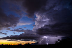 De Bliksem van Tucson Stock Foto's