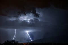 De Bliksem van Tucson Stock Fotografie