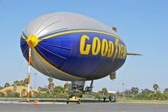 De blimp van Goodyear stock fotografie