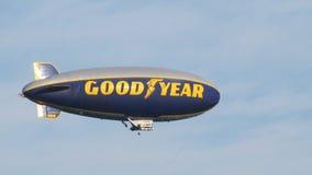 De blimp van Goodyear royalty-vrije stock fotografie