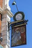 De Blinde Bedelaar Pub in Londen royalty-vrije stock afbeelding