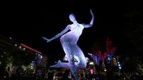 De Bliss Dance Sculpture-vertoning stock foto's
