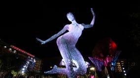 De Bliss Dance Sculpture-vertoning stock fotografie