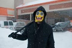 De Blizzard van Chicago Stock Foto