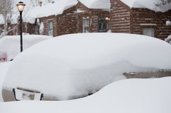 De Blizzard van de winter Royalty-vrije Stock Fotografie