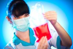 De bloedgeverdienst Stock Foto