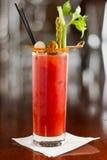 De bloedige cocktail van Mary royalty-vrije stock fotografie