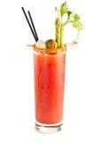 De bloedige cocktail van Mary stock foto