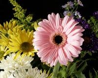 De bloeiende bouqet bloemen van regelingen royalty-vrije stock foto