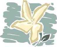 De bloem Royalty-vrije Illustratie