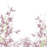 De bloem grunge achtergrond van Nice Royalty-vrije Stock Foto's