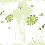 De bloem grunge achtergrond van Nice Royalty-vrije Stock Afbeeldingen
