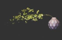 De bloem is nog Stock Foto