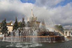 De Bloem van de fonteinsteen Royalty-vrije Stock Afbeelding