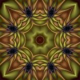 De Bloem van de kiwi vector illustratie