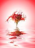 De bloem van de mutant stock illustratie