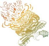 De bloem van de spreker royalty-vrije illustratie