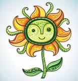 De bloem van Eco Royalty-vrije Stock Afbeeldingen