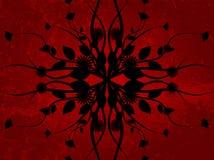 De bloem van Grunge stock illustratie