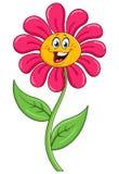 De bloem van het beeldverhaal Stock Fotografie