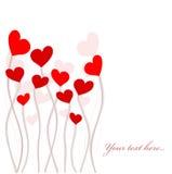 De bloem van het hart Royalty-vrije Stock Afbeeldingen