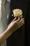 De bloem van het huwelijk Royalty-vrije Stock Afbeeldingen