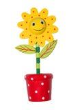 De bloem van het stuk speelgoed Stock Afbeeldingen