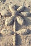 De bloem van het zand Royalty-vrije Stock Foto's