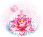 De bloem van Lotus royalty-vrije illustratie